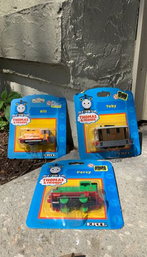 Thomas and Friends Ertl Very Rare New in Package Percy Toby Bill Excellent Condition for Sale in Heathrow, FL