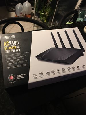 Asus wireless router AC 2400 for Sale in Agawam, MA