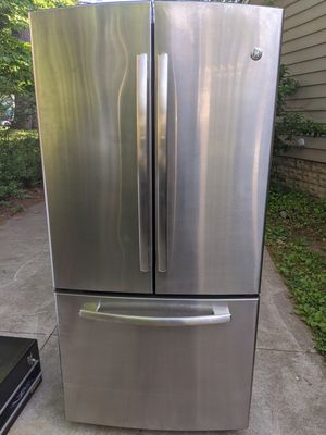 GE General Electric Stainless Steel French Door Fridge Refrigerator Freezer for Sale in Dearborn, MI