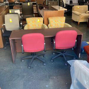 24x72 Mahogany Credenzas Desks for Sale in Wildomar, CA