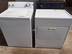 General electric washer kenmore gas dryer for Sale in Phoenix, AZ