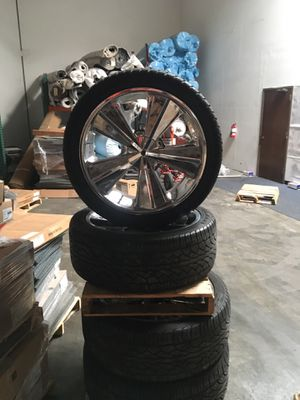 24 inch with tires they still have 80% Tire tread for Sale in San Jose, CA