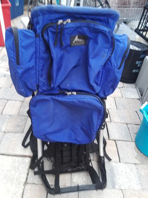 GREGORY Large capacity hiking camping mountain climbing Backpacking bag multi day trek for Sale in Tampa, FL