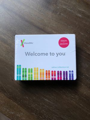 23 and Me Genetic Ancestry + Health Kit for Sale in Bellevue, WA
