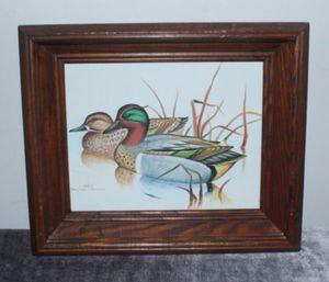 Framed Duck Art for Sale in Arlington, VA