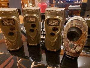 Cuddeback Attack IR Trail camera's for Sale in Minneapolis, MN