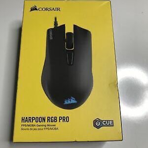 SEALED Corsair Harpoon RGB PRO Gaming Mouse Backlit RGB LED 12000 DPI for Sale in Daly City, CA