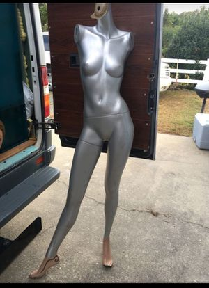 Silver Maniquin art work burning man San Francisco for Sale in Gambrills, MD