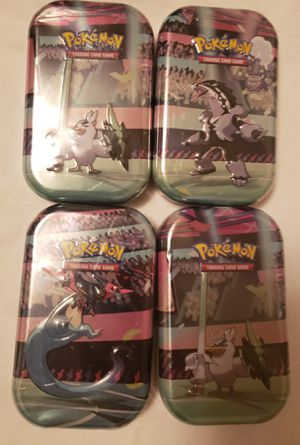 New Pokemon Galar Pal Mini Tins for Sale in Wichita, KS