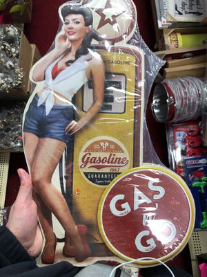 Tin gas an go sign for Sale in Terre Haute, IN