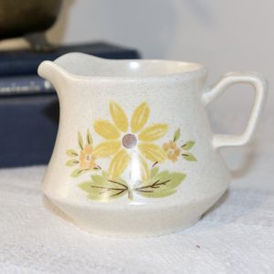 Cute Boho Creamer with Sunflower Nikki Stone of Japan for Sale in Monrovia, CA