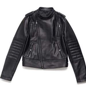 NEW in box Lambskin Motorcycle Jacket – size Large- Women's for Sale in North Wales, PA