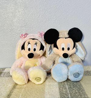 Disney Minnie & Mickey plush set Easter plush for Sale in Compton, CA