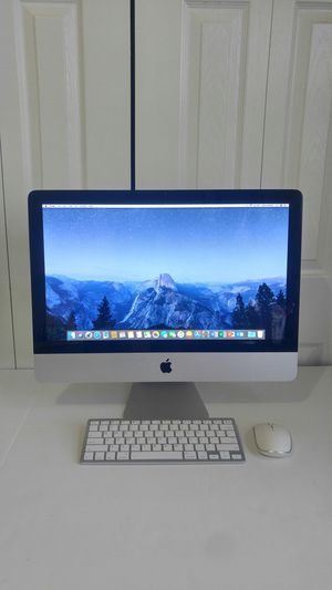 "☑ Apple iMac Desktop Computer ( 21.5"" , 2011 ) / Core i5 @ 2.5 Ghz / 500 GB Hdd / 08 GB Memory / New keyboard & mouse/ Nice glass screen/ Office 2019 for Sale in Homestead, FL"