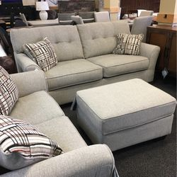 3PC SOFA LOVESEAT SET WITH OTTOMAN for Sale in Stafford,  TX