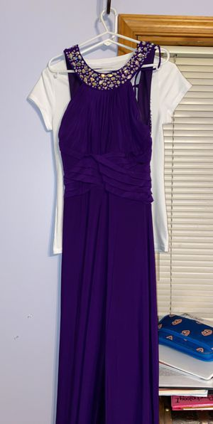 Purple Prom Dress (Size 7/8) for Sale in Sykesville, MD