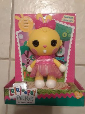 Lalaloopsy pet carrot for Sale in Tampa, FL
