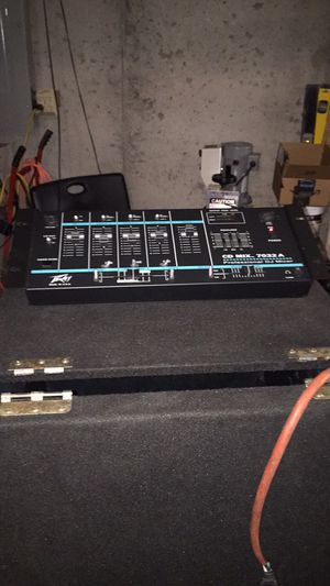 Peavey dj mixer for Sale in Raytown, MO