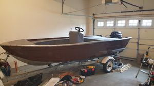 14ft Aluminum Boat for Sale in FSTRVL TRVOSE, PA