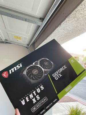 MSI Ventus XS OC Edition 6gb Graphics card for Sale in Las Vegas, NV