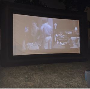 Outdoor projector screen and projector for Sale in South Euclid, OH