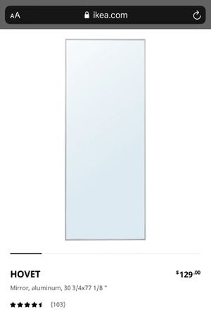 IKEA Hovet Wall Mirror for Sale in San Jose, CA