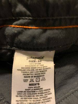 Patagonia Mens 33 pants for Sale in Bakersfield, CA
