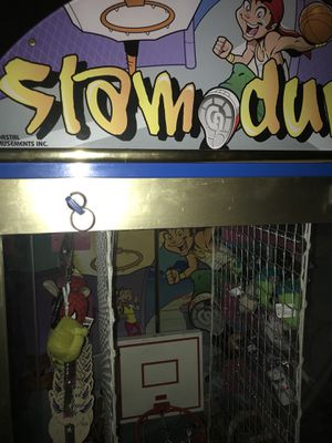 Coin operated Arcade Slam dunk prize game for Sale in Orlando, FL