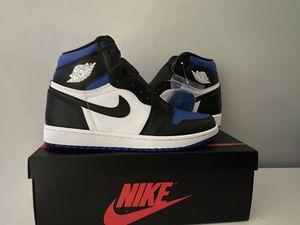 Jordan 1 royal toe for Sale in Bartlett, IL