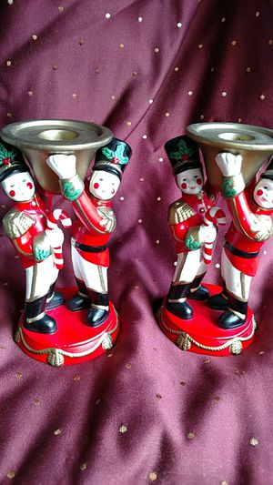 PartyLite toy soldier candle holders for Sale in Largo, FL