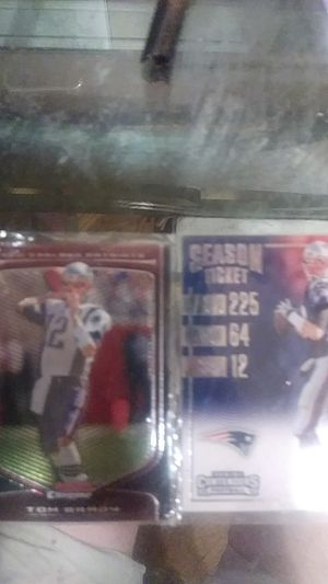 Tom Brady cards 58 & 10 for Sale in Balfour, ND