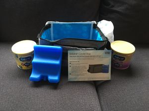 Diapers 201 total, baby cologne, and cooler bag for Sale in Bonney Lake, WA