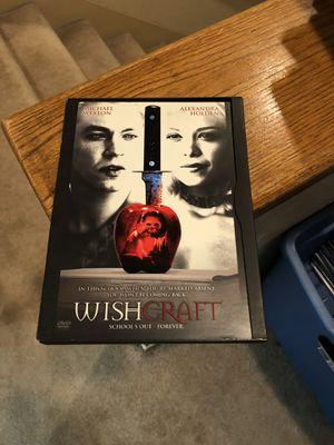 Wish Craft DVD Movie Michael Weston Alexandra Holden 2002 for Sale in Buena Park, CA