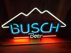 Busch beer gas tube Neon light bar man cave for Sale in Simsbury, CT