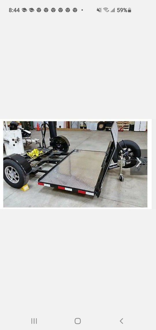 HDXL TANDEM TOW DOLLY