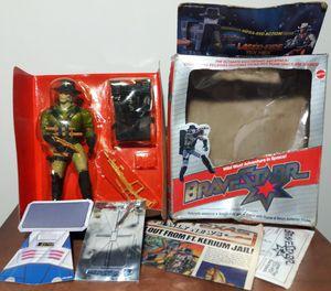 Bravestarr Tex Hex Laser Fire Action Figure 1986 vintage 80s Toy mattel for Sale in Marietta, GA