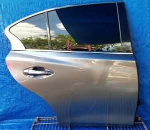 2014 2015 2016 2017 2018 2019 2020 INFINITI Q50 REAR RIGHT PASSENGER SIDE DOOR ASSEMBLY GRAY for Sale in Fort Lauderdale, FL