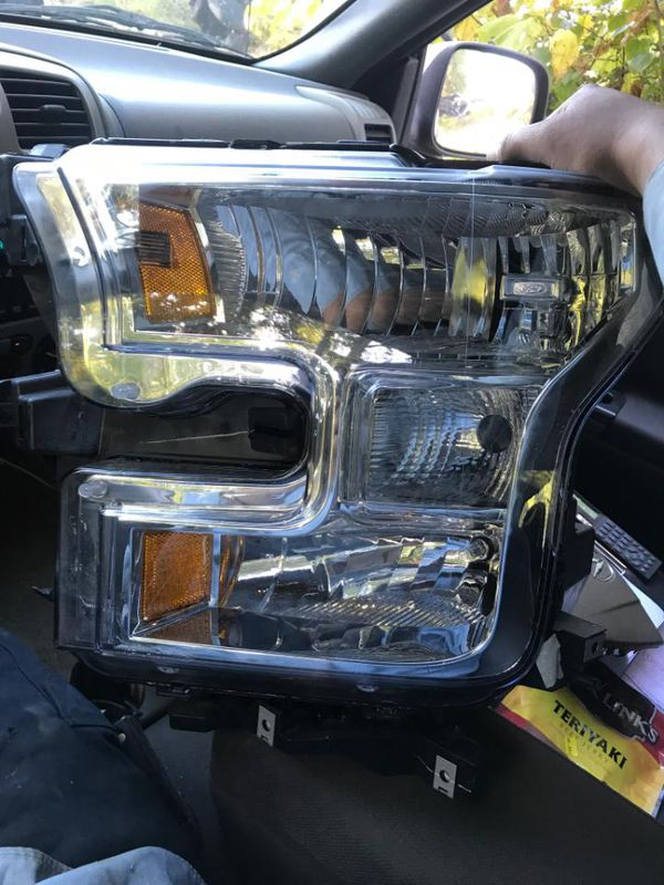 2015 2016 2017 2018 F150 Headlights Halogen left and right