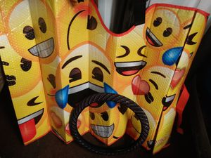 Emoji Sunshield windshield cover and steering wheel cover for Sale in Tampa, FL