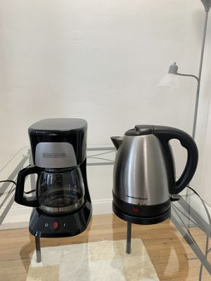 Coffee Maker and Water Heater Kettle for Sale in Miami Beach, FL