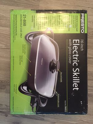 Brand new Electric skillet for Sale in Brentwood, CA
