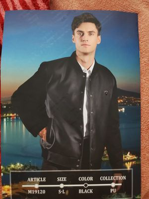 Italian PU Leather, chamois(15 jackets and 2 bags) for Sale in Arlington, VA