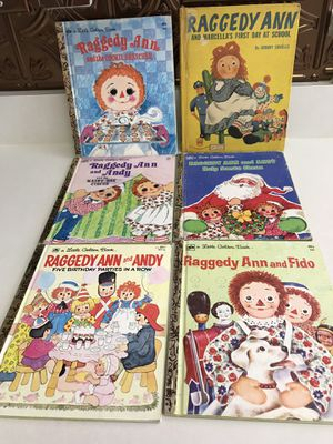 Vintage Raggedy Ann & Andy Books for Sale in Charlotte, NC