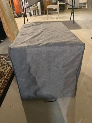 Grey dog crate cover for Sale in Seekonk, MA