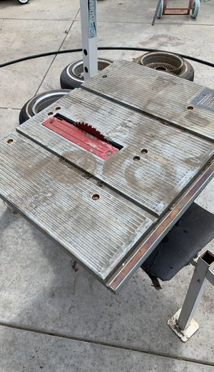Table saw for Sale in Riverside, CA