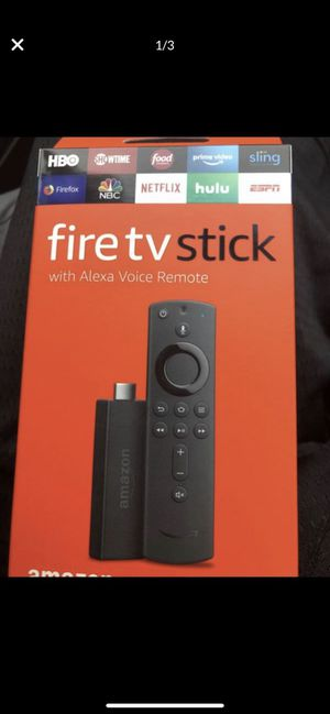 Amazon fire TV stick. Unlimited shows, , music, movies, Live Tv, and more. for Sale in Port St. Lucie, FL