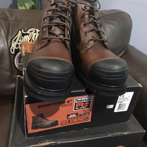 """Work Boots 🥾// Timberland Pro // BOOMTOWN 6"""" ALLOY SAFETY TOE// Size (7.5) ONLY for Sale in Morton Grove, IL"""