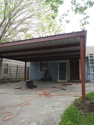 STRONG CARPORTS ALL WELD for Sale in Houston, TX