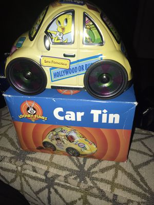 Looney toons car tin-vintage for Sale in Lubbock, TX