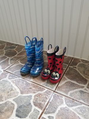 Kids rain boots for Sale in Pensacola, FL
